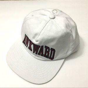 Awkward Baseball Hat